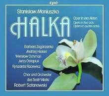 Stanislaw Moniuszko (1819-1872): Halka (Oper in 4 Akten), 2 CDs