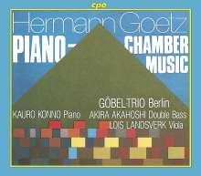 Hermann Goetz (1840-1876): Kammer- und Klaviermusik, 2 CDs