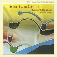Antonio Casimir Cartellieri (1772-1807): Die drei Wiener Bläserdivertimenti, CD