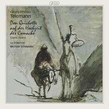 Georg Philipp Telemann (1681-1767): Don Quichotte auf der Hochzeit der Comacho, CD