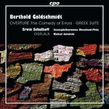Berthold Goldschmidt (1903-1996): Greek Suite, CD