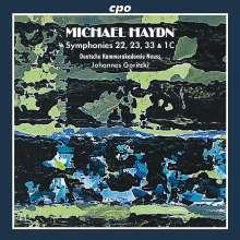 Michael Haydn (1737-1806): Symphonien Nr. 22, 23, 33 & 1C, CD