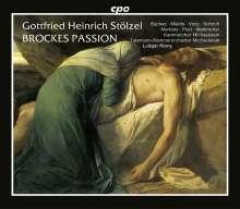 Gottfried Heinrich Stölzel (1690-1749): Brockes - Passion 1725, 2 CDs