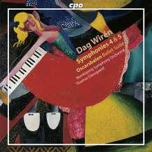 Dag Wiren (1905-1986): Symphonien Nr.4 & 5, CD