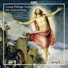Georg Philipp Telemann (1681-1767): Die Auferstehung TWV 6:7 (Oratorium, 1761), CD