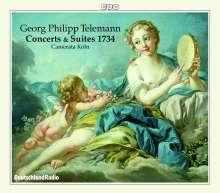 Georg Philipp Telemann (1681-1767): Six Concerts et Six Suites TWV 42 (1734), 3 CDs