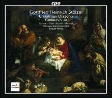 Gottfried Heinrich Stölzel (1690-1749): Weihnachtsoratorium (Kantaten 6-10), CD