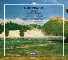 Hans Pfitzner (1869-1949): Sämtliche Lieder, 5 CDs