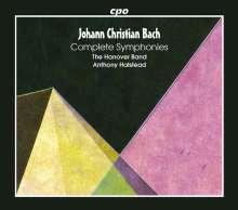 Johann Christian Bach (1735-1782): Sämtliche Symphonien, 5 CDs