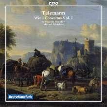 Georg Philipp Telemann (1681-1767): Bläserkonzerte Vol.7, CD