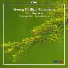 Georg Philipp Telemann (1681-1767): VI Trio a Violini e Basso, CD