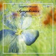 Leopold Mozart (1719-1787): 4 Sinfonien, CD