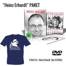 Heinz Erhardt ...und Dergleichen (Geschenkset mit T-Shirt), 5 DVDs und 1 T-Shirt