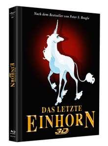 Das letzte Einhorn (3D Blu-ray & DVD im Mediabook), 1 Blu-ray Disc und 1 DVD