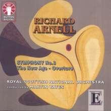 Richard Arnell (1917-2009): Symphonie Nr.3, CD