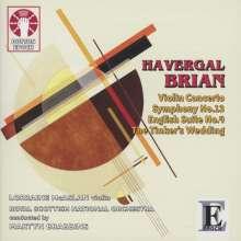 Havergal Brian (1876-1972): Symphonie Nr.13, CD