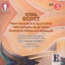 Cyril Scott (1879-1970): Klavierkonzert D-Dur op.10, CD