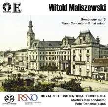 Witold Maliszewski (1873-1939): Symphonie Nr.3, Super Audio CD