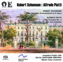 Alfredo Piatti (1822-1901): Cellokonzert Nr. 2 d-moll op. 26, Super Audio CD