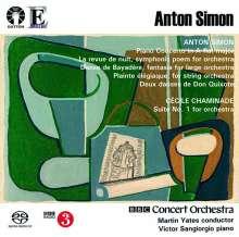 Anton Simon (1850-1916): Klavierkonzert A-Dur op. 19, Super Audio CD