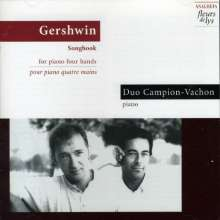 George Gershwin (1898-1937): Arrangements f.2 Klaviere, CD