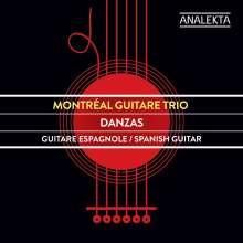 Montreal Guitare Trio - Danzas, CD