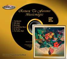 Return To Forever: Musicmagic (Limited Numbered Edition) (Hybrid-SACD), Super Audio CD