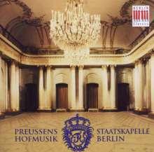 Musik am Hofe Friedrichs des Großen, CD