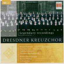 Dresdner Kreuzchor - Legendary Recordings, 10 CDs
