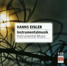 Hanns Eisler (1898-1962): Instrumentalmusik, 6 CDs