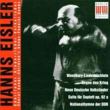 Hanns Eisler (1898-1962): Woodbury-Liederbüchlein, CD