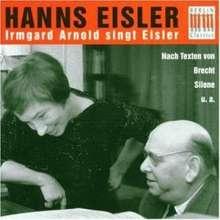 Hanns Eisler (1898-1962): Lieder & Kantaten, CD