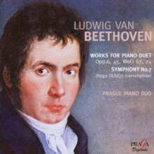 Ludwig van Beethoven (1770-1827): Symphonie Nr.7 (Fassung für 2 Klaviere), Super Audio CD