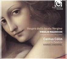 Virgilio Mazzocchi (1597-1646): Vespro della beata Vergine, CD