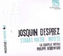 Josquin Desprez (1440-1521): Motetten, CD