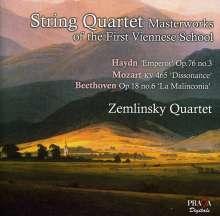 Joseph Haydn (1732-1809): Zemlinksy Quartet - Meisterwerke der ersten Wiener Schule, Super Audio CD