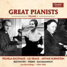 Great Pianists Vol.1, CD