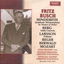 Fritz Busch dirigiert, CD