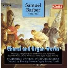 Samuel Barber (1910-1981): Chorwerke, CD