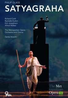 Philip Glass (geb. 1937): Satyagraha (Oper in 3 Akten), DVD