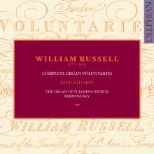 William Russell (1777-1813): Complete Organ Voluntaries, 3 CDs
