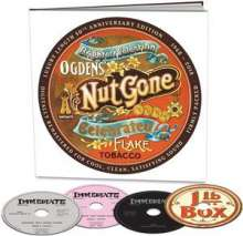 Small Faces: Ogdens' Nut Gone Flake (50th Anniversary Definitive Edition), 3 CDs, 1 DVD und 1 Buch