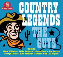 Country Legends: The Guys, 3 CDs