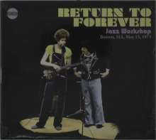Return To Forever: Jazz Workshop Boston, MA, May 15, 1973, CD
