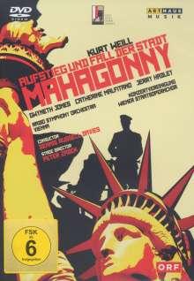 Kurt Weill (1900-1950): Aufstieg und Fall der Stadt Mahagonny, DVD