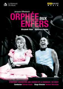 Jacques Offenbach (1819-1880): Orphee aux Enfers, DVD