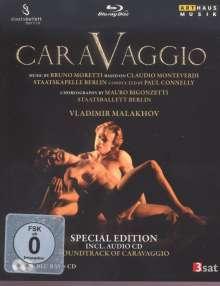 Staatsballett Berlin: Caravaggio (Special Edition mit CD), 1 Blu-ray Disc und 1 CD