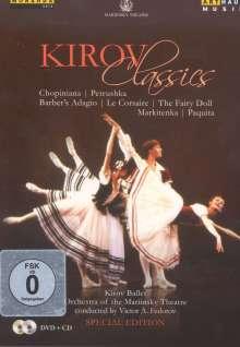 Kirov Classics, 1 DVD und 1 CD