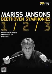 Ludwig van Beethoven (1770-1827): Symphonien Nr.1-3, DVD