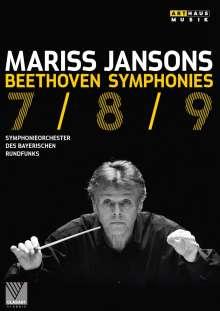 Ludwig van Beethoven (1770-1827): Symphonien Nr.7-9, DVD